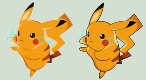 Pikachu by Wopter