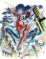 Spider-Man 2099 by deankotz