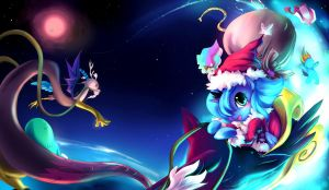 MLP :THE GIFTS FROM THE MOON by bakki