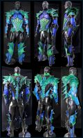 Imperial Sea Dragon Armor Comp by Azmal