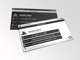Minimalistic Business card 01 by Lemongraphic