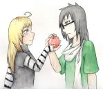 Apples to Apples by zaphyrae