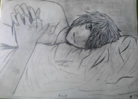 Dragon Age waking up next to Alistair by Toniegamer