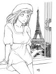 Hina and the Eiffel by charu-san