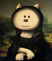 Monalisa's Cat by Frog-FrogBR
