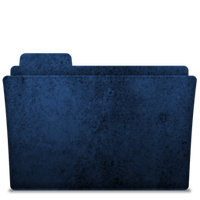 Folder-icon Blue 2 by TylerGemini