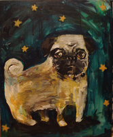 little pug by buris