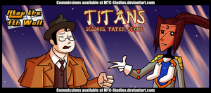 AT4W: Titans- Scissors, Paper, Stone by MTC-Studio