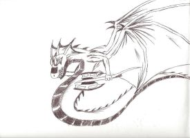 The White Wyvern by Skythe-Soulblade