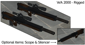 WA2000 - Rigged by ProgammerNetwork