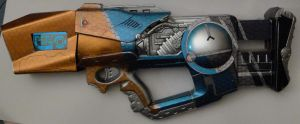 Borderlands 2 Maliwan SMG - Nerf Firefly - WIP by Hypercats