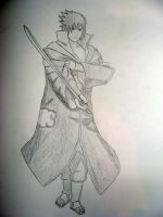 uchiha sasuke drawing by kakashiz