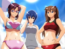 Eva Girls Swimsuits 1 by Wolfman-053