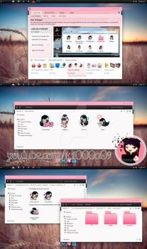 Lolita theme iconpackager by k1000adesign