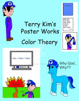 Color Theory Poster Cover by Masterluigi452