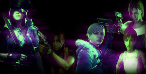 Resident Evil Girls Wallpaper by Orifoxchan