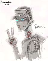Scout1 tf2 by Leonifa