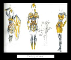 Armour designs by kyuubi0kid