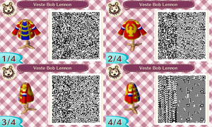 Veste Bob Lennon (Animal Crossing) by RaveDravoor