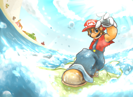 Delfino V.K by SuperSmashWolves
