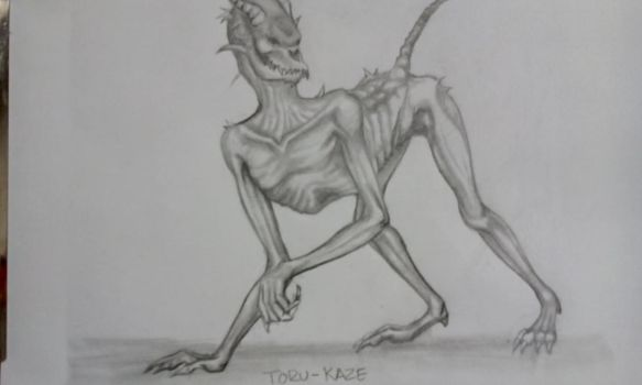 creature by Toru-Kaze
