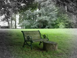 The old bench by Poomerang
