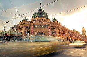 Flinders Street Station by alexwise