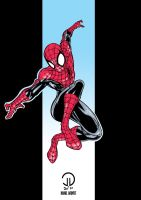 Spidey colours by future-parker