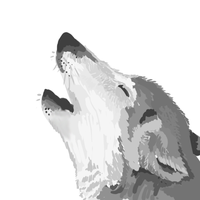 Howling Wolf by GoWaterTribe