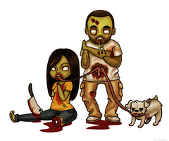 Zombie Couple by beyx
