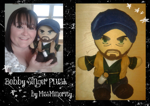 Bobby Singer Plush by MissMinority