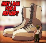 Our shoes refund policy... by leomon32