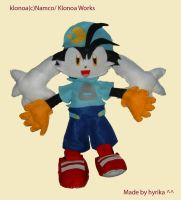 Klonoa plush by Hyrika