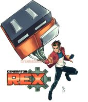 Generator Rex by lince