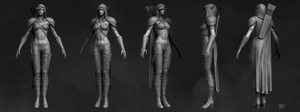 Alleria Windrunner | Sculpt by erenozel