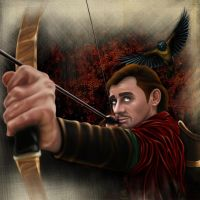 Bard The Bowman The Slayer of Smaug by RizoRex