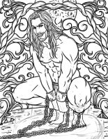 Rollo Coloring Book Page wip by Destinyfall