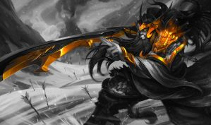 Monochromatic Splash Art: Warring Kingdoms Tryn... by AODRG