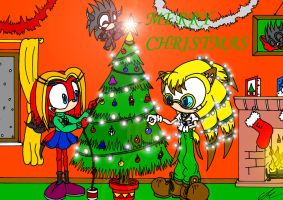 Merry Christmas 2005 by EUAN-THE-ECHIDHOG