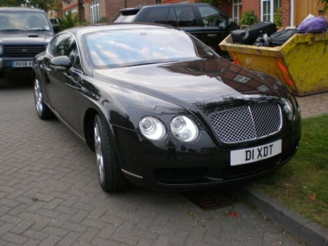Bentley Continental GT Front by CollegeSpirit17