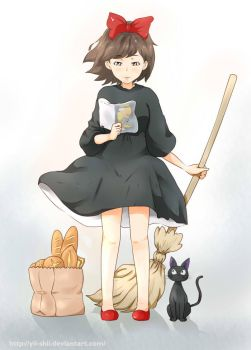 Kiki's delivery service by Yii-shii