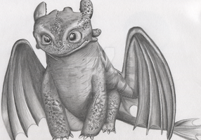 Toothless by lydiaaaaa