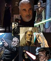 Collage of Dooku by LadyIlona1984