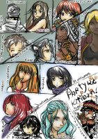 Party Kiriban 12k 8D by clari-chan