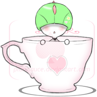 Teacup Ralts by Plumsauce