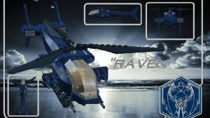 Raven Helicopter by theomegareaper101