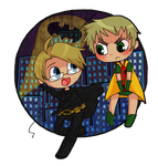 APH SS: USUK Batman and Robin by Keyboredom