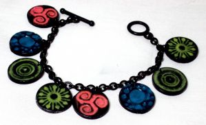 Rave bracelet by ACrowsCollection