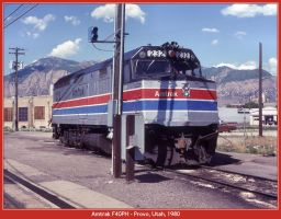 Amtrak F40PH by classictrains