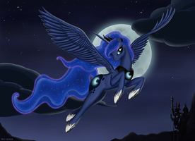 Luna - Princess of Night by RoyallyCrimson